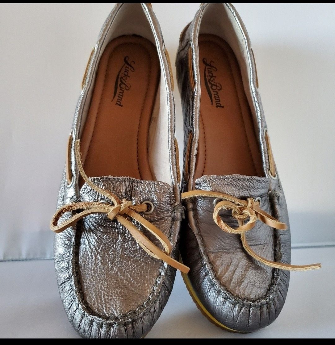 Luckie Brand Annie  Boat Shoe Sz 7.5