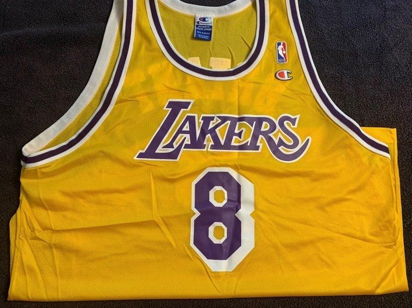 Rare Kobe Vinatge 97 Lakers Jersey #8