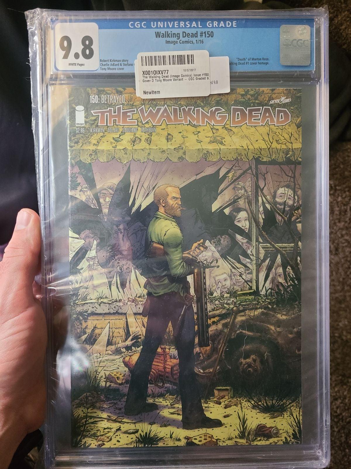 CGC 9.8 Walking Dead #150