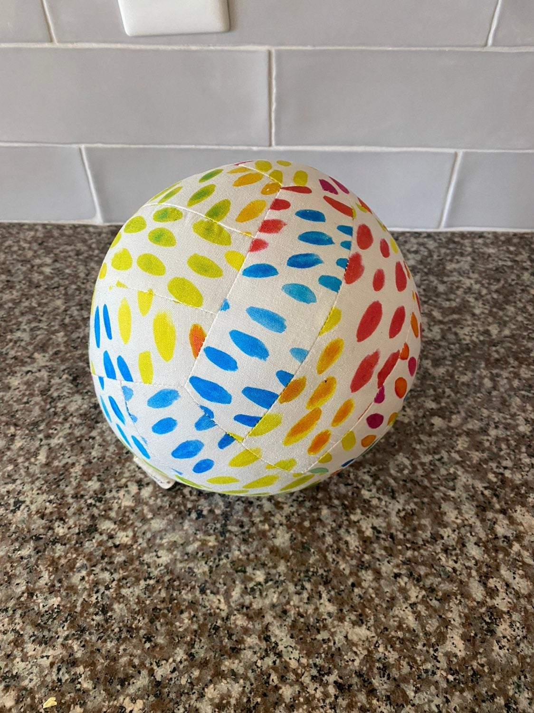 Lovevery organic cotton big kid ball
