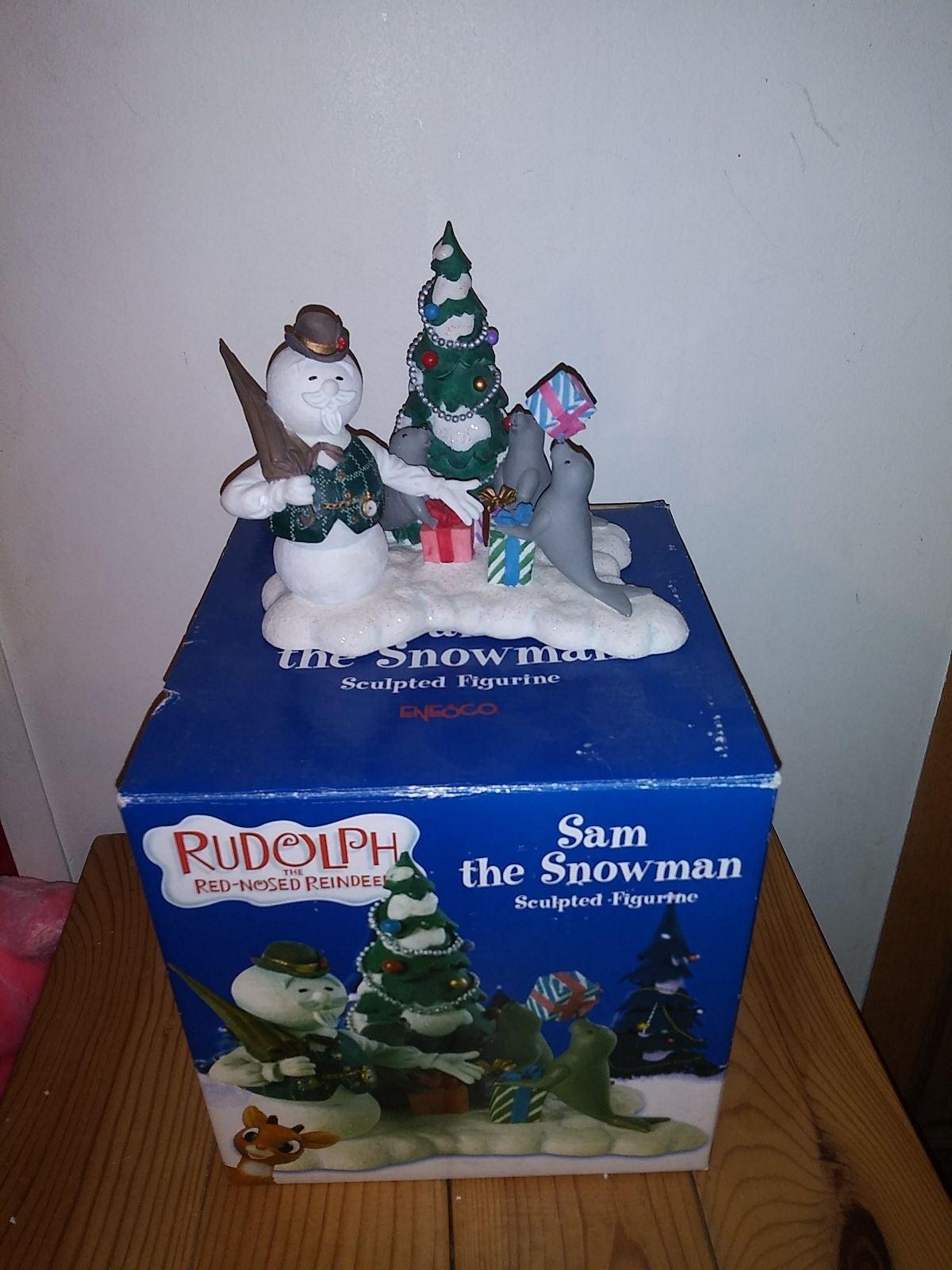 Enesco Sam The Snowman Rudolph Misfits