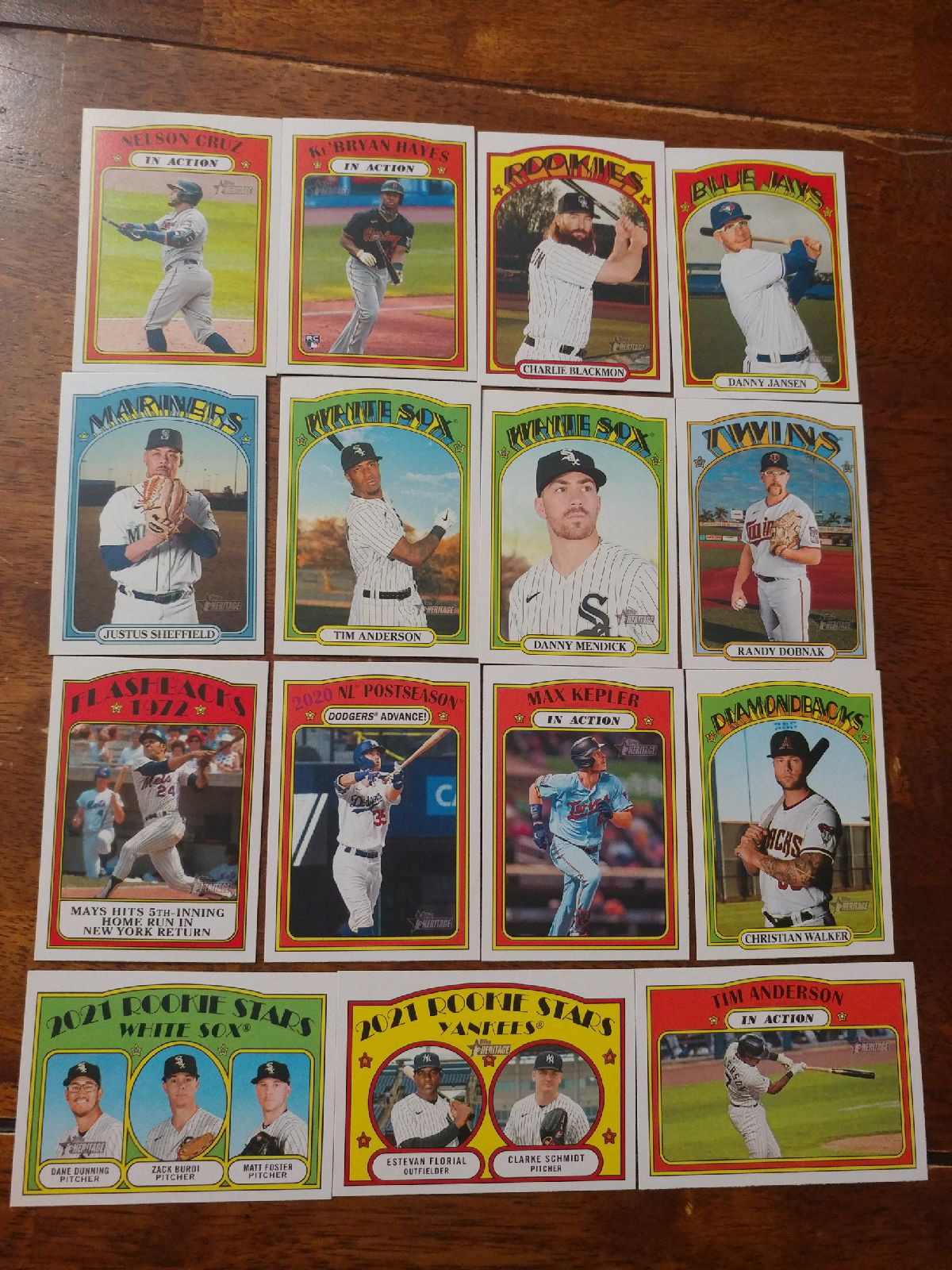 Topps Heritage lot