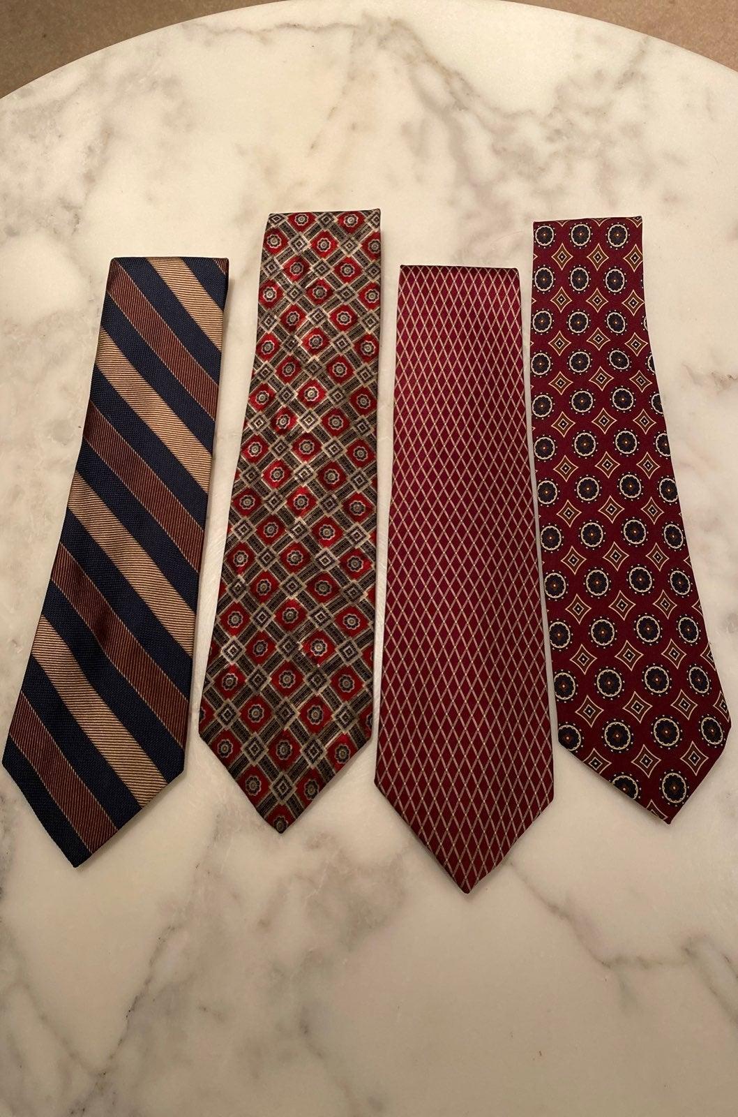 Roundtree & Yorke Silk Neckties