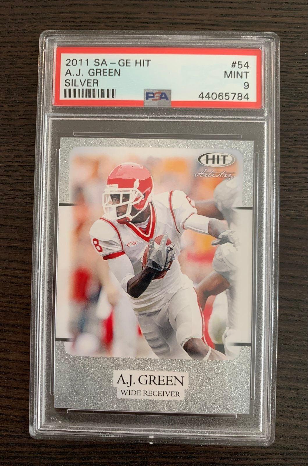 AJ Green Sage Hit Card
