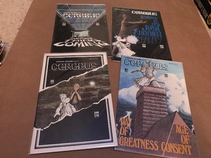 Cerebus Comic books