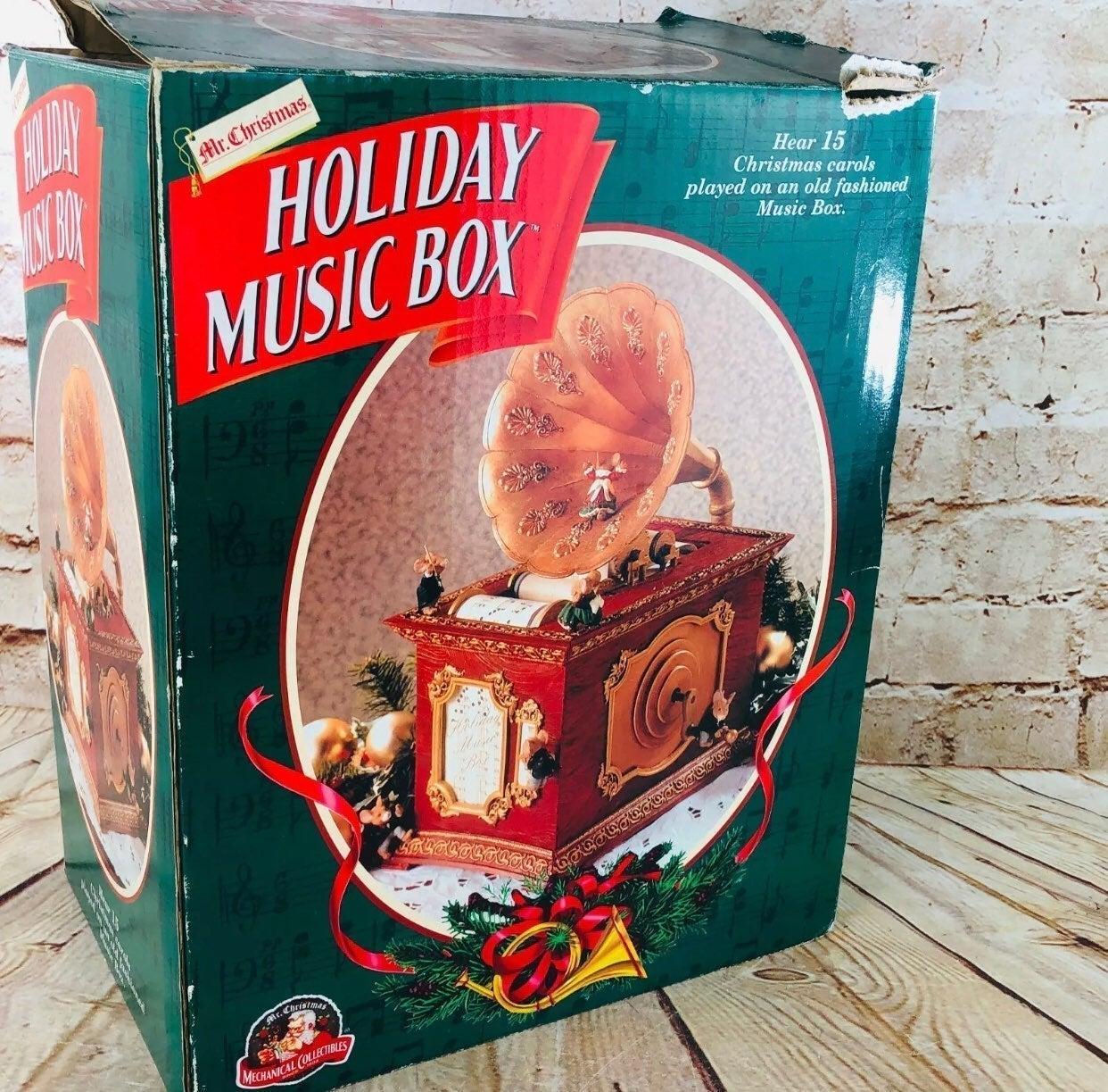 MR. CHRISTMAS ANIMATED HOLIDAY MUSIC BOX