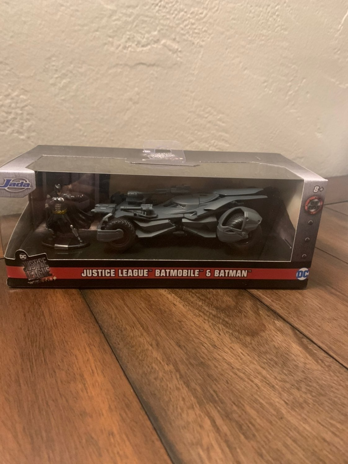 Jada Toys Batmobile and Batman
