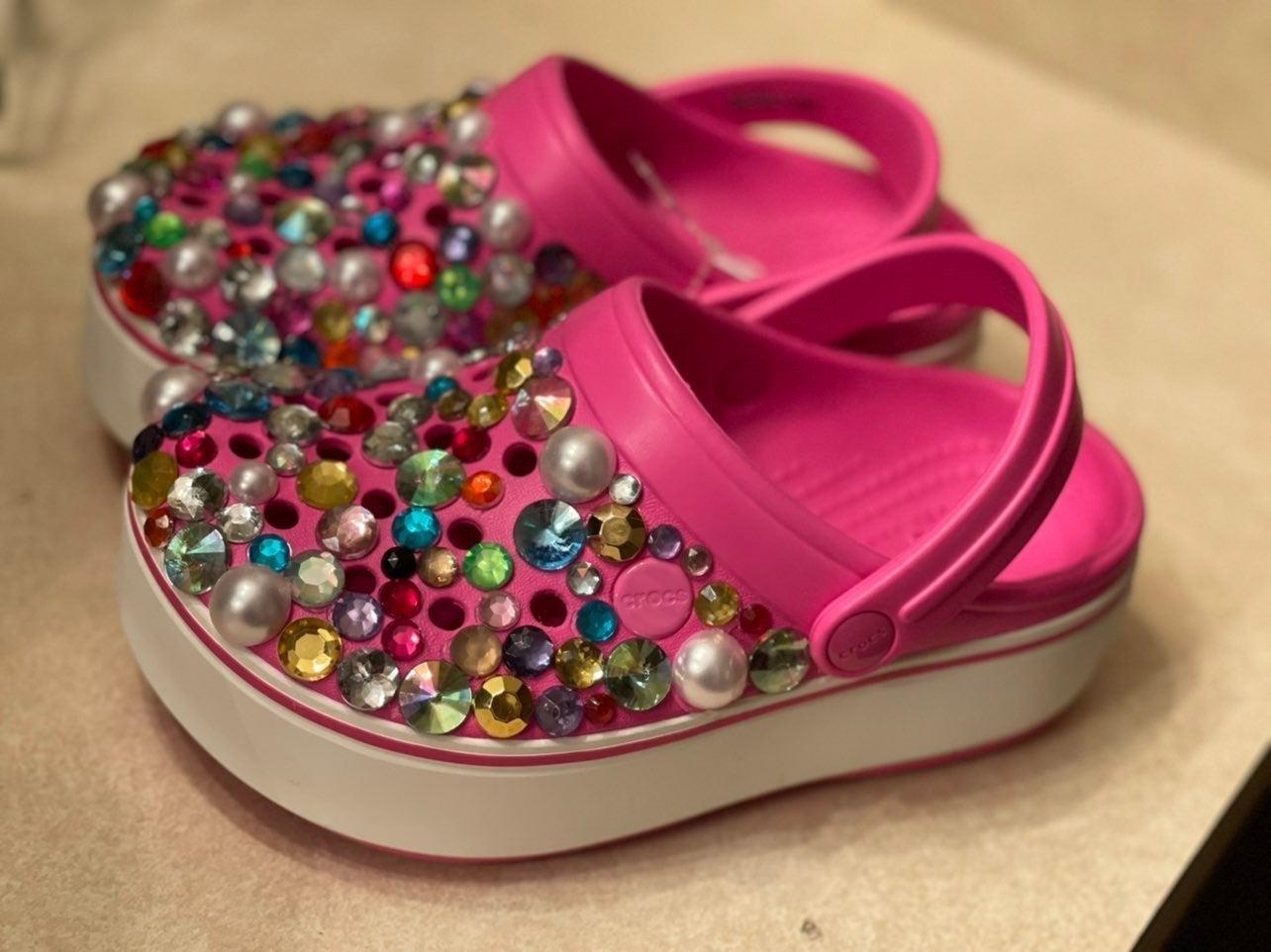 Crocs shoes size 13 kids