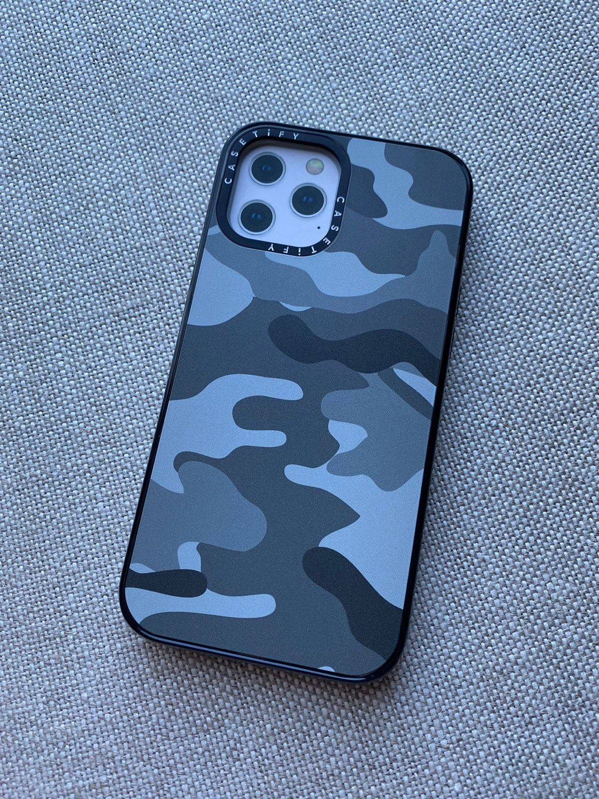 iPhone 12 Pro Max Impact Camo Grey
