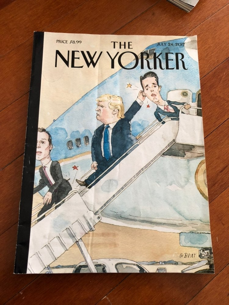 Trump The New Yorker Cartoon Magazinee