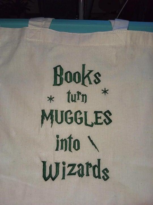 Harry Potter theme book/ shopping bag