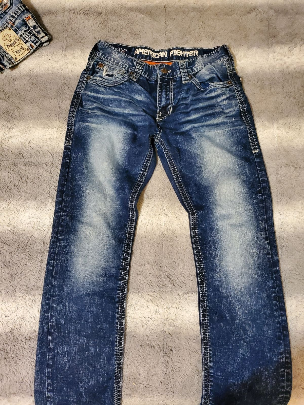 American fighter jeans