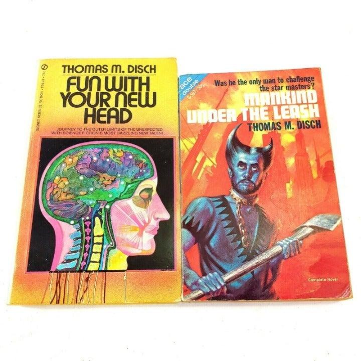 Thomas M Disch 2 Books Vintage Sci Fi