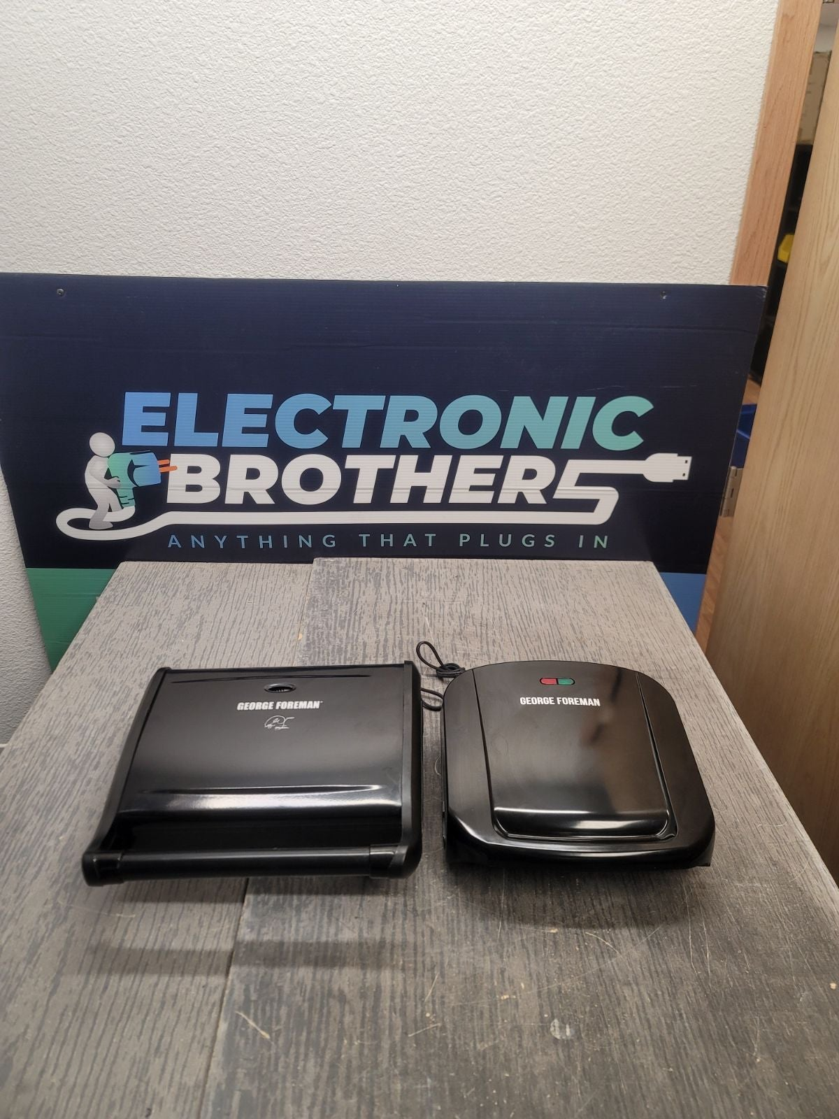 George Foreman Grill Lot of 2 (j)