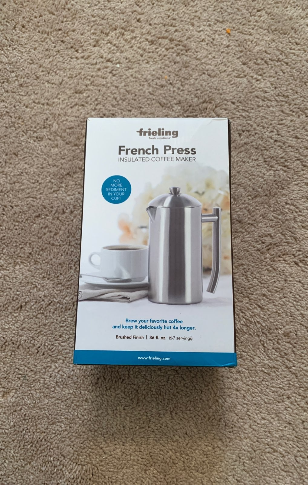 French Press Insulated Coffee maker