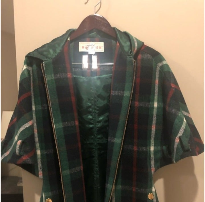 Madchen Plaid Coat (from Anthropologie)