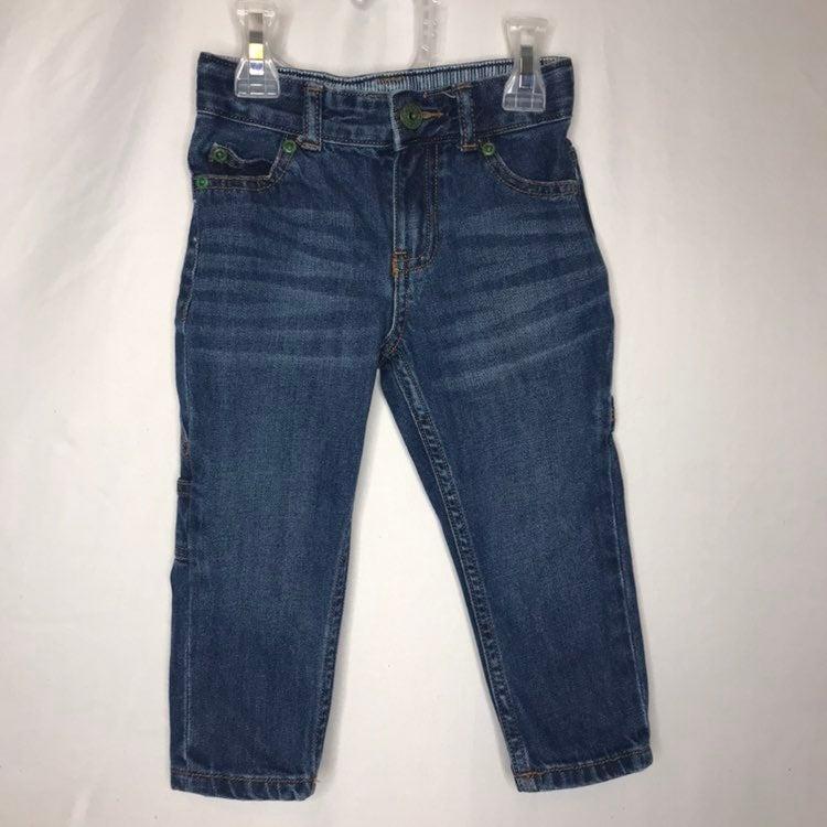 Carters Blue Jeans Size 2T