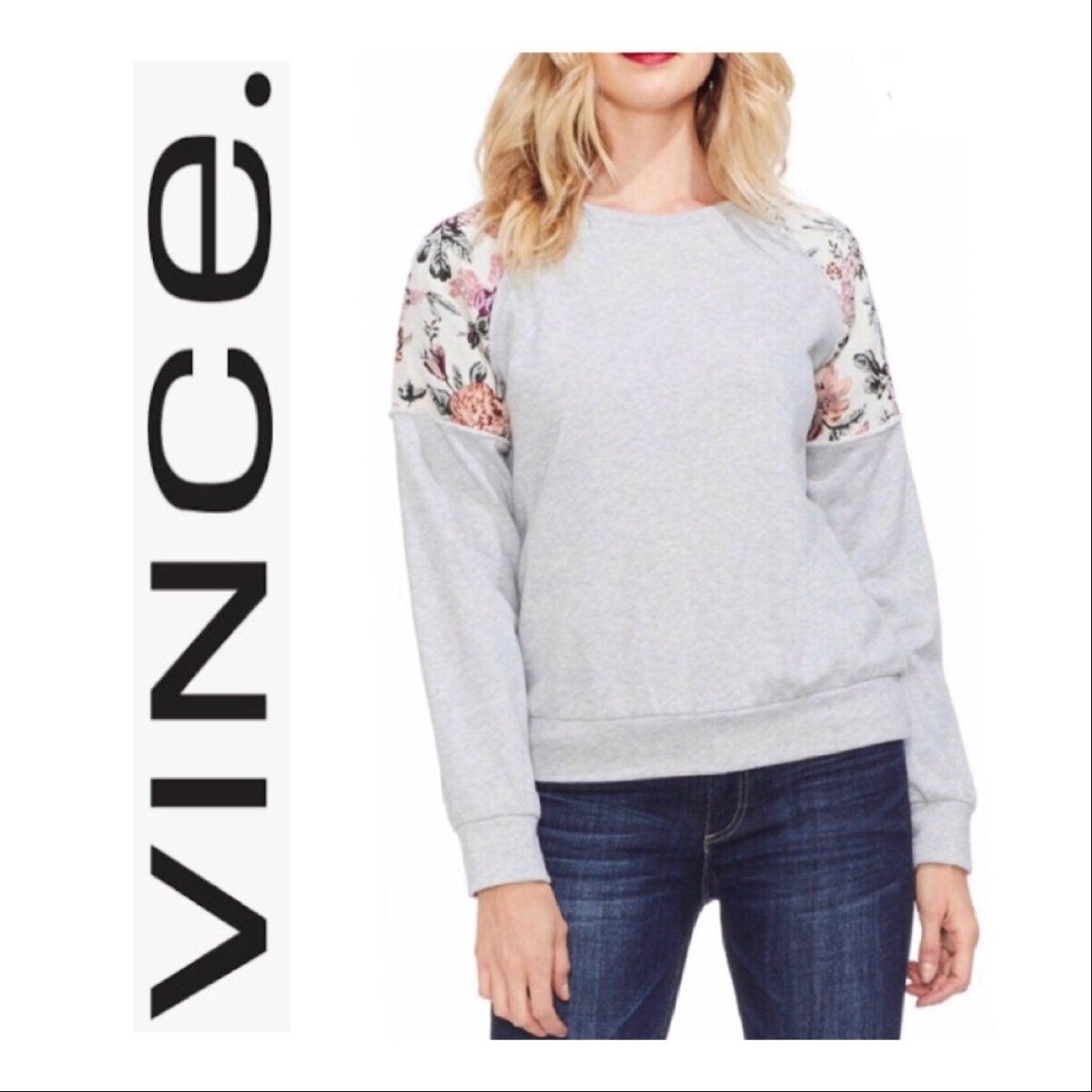 Vince Oversized Tapestry Sweatshirt