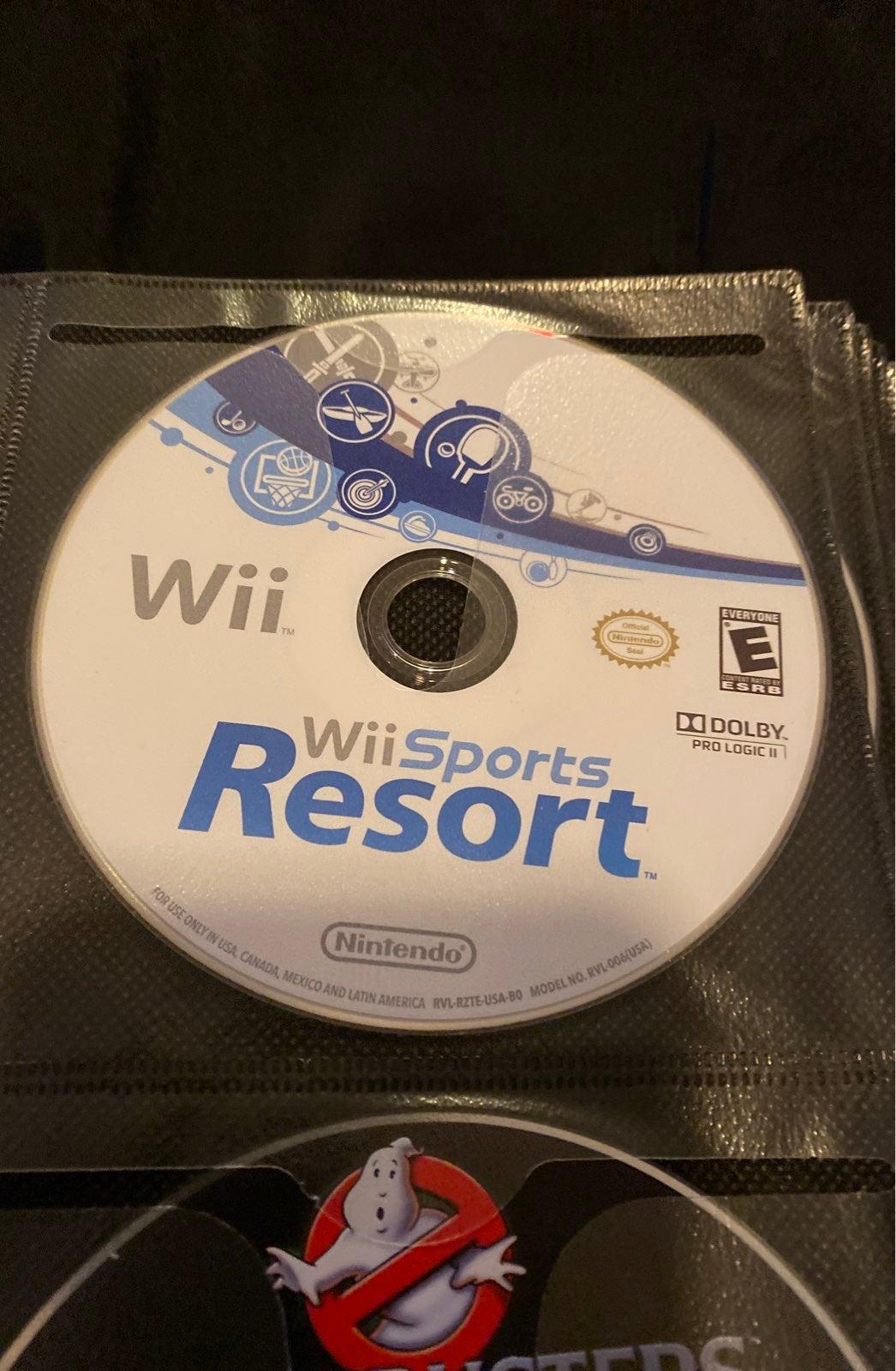 Wii Sports Resort game Wii