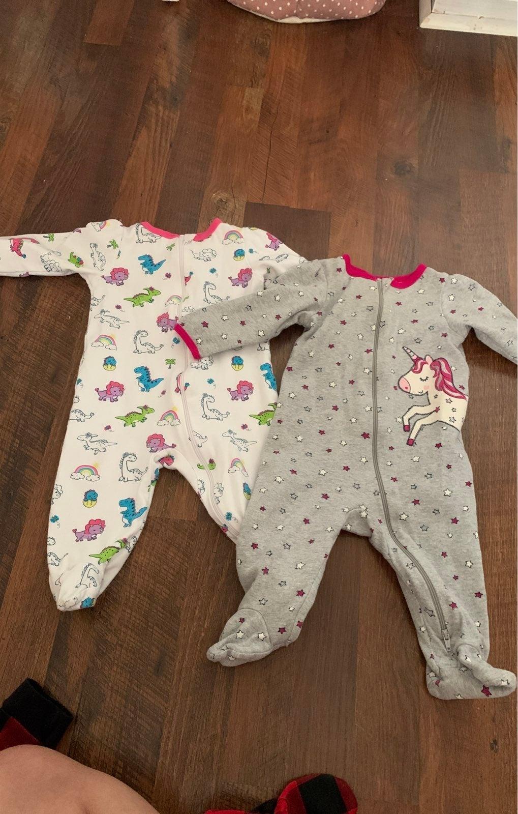 2 Baby onesies