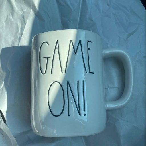 Rae Dunn Game On! Mug