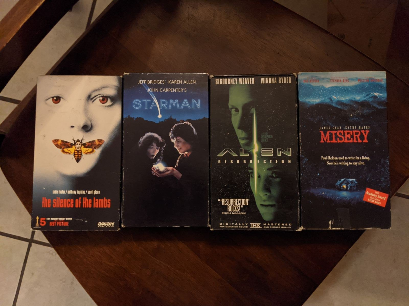 Horror and scifi VHS bundle