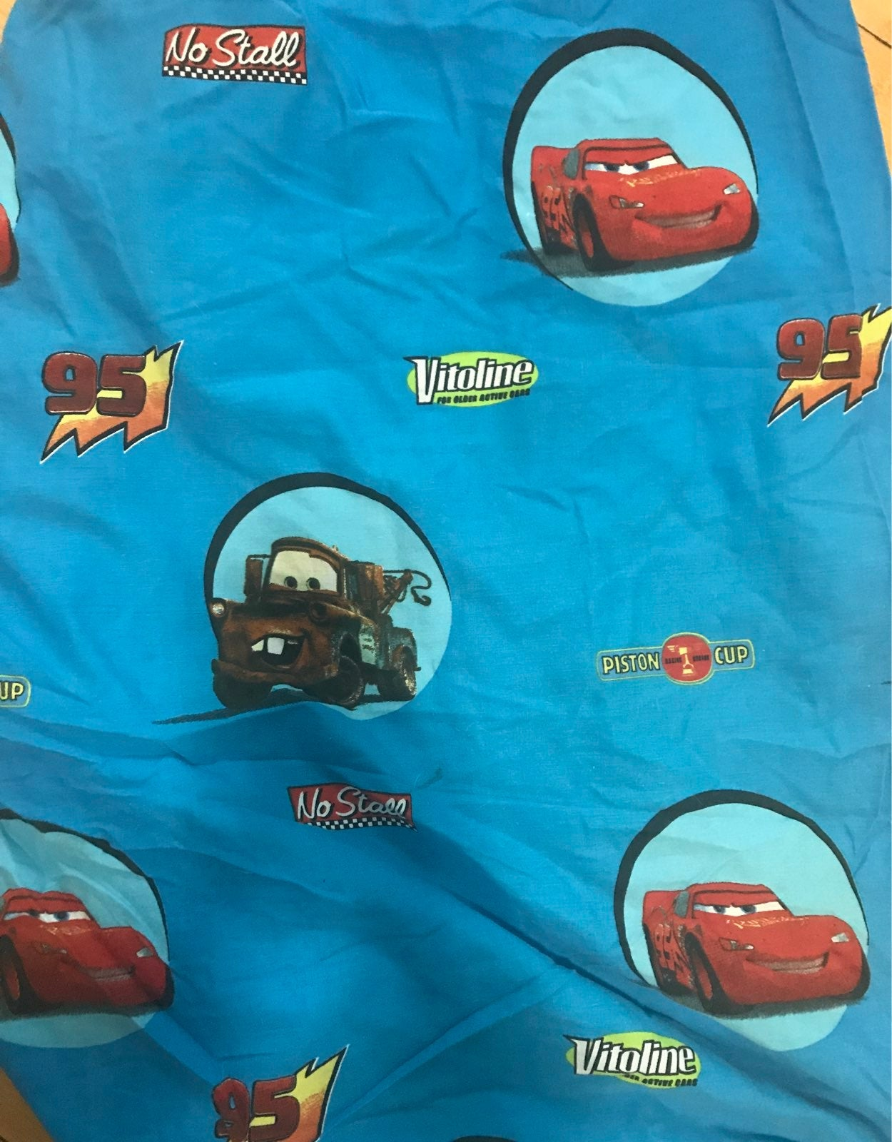 Vintage Car's fitted sheet disney