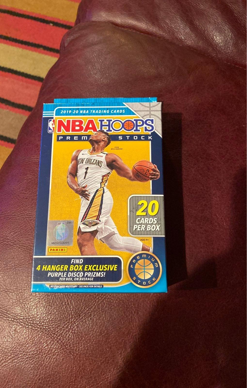 NBA Hoops Hanger Box