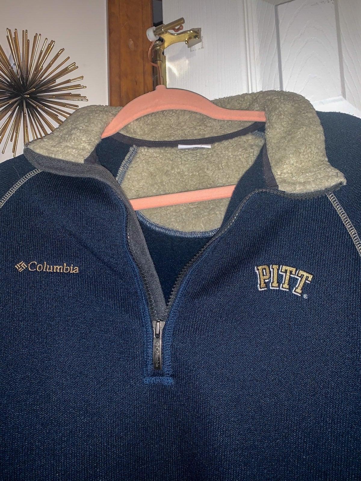 Columbia PITT quater zip