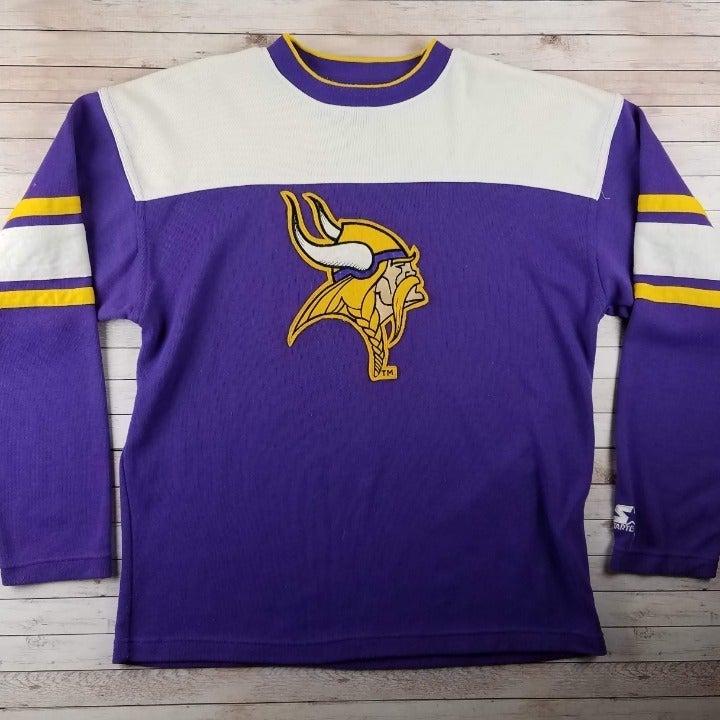 VTG 90s Minnesota Vikings Starter Shirt