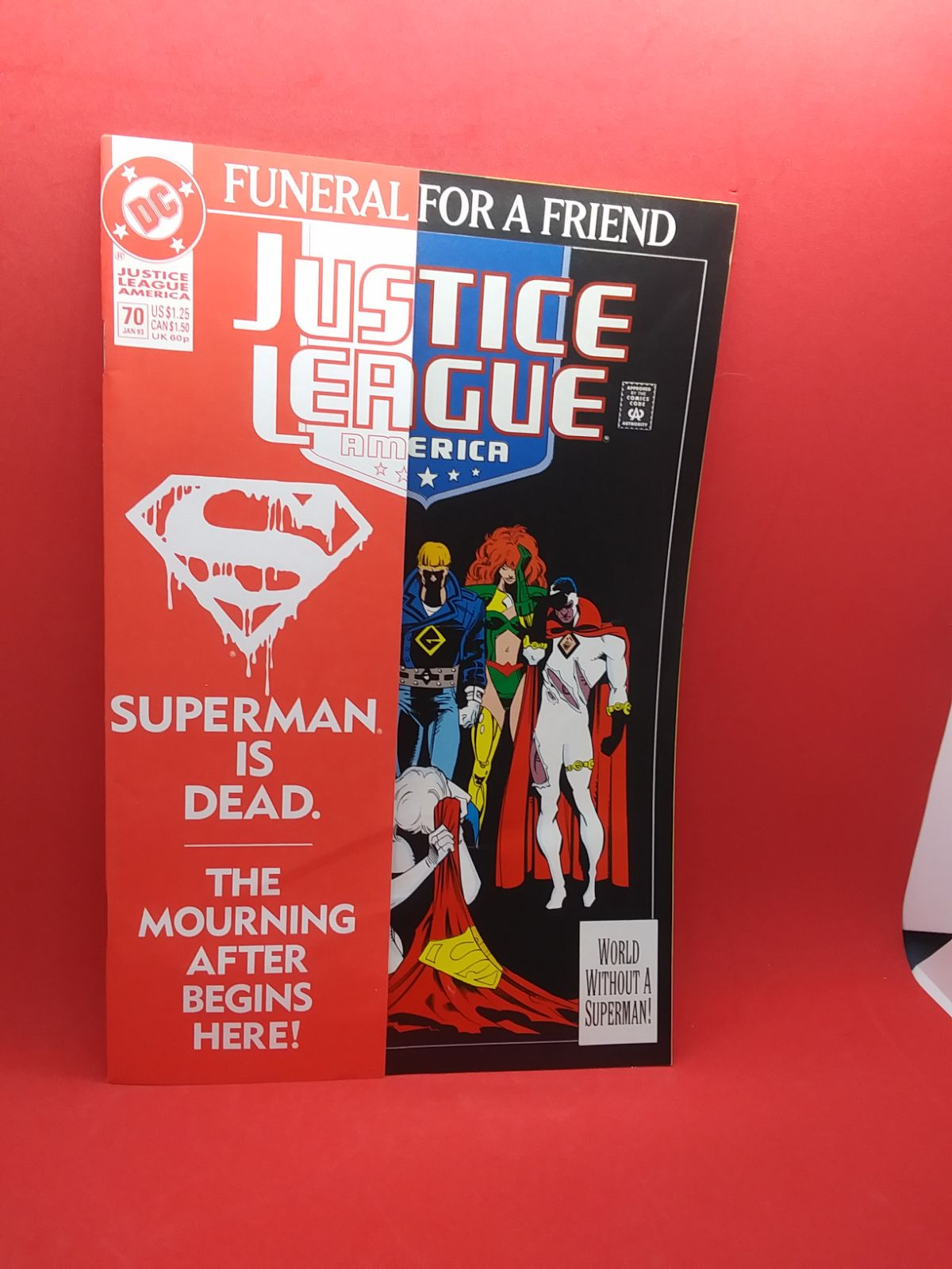 JUSTICE LEAGUE 70 SUPERMAN IS DEAD