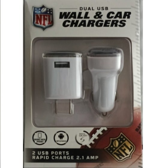 NEW Seahawks Phone Charger Duo