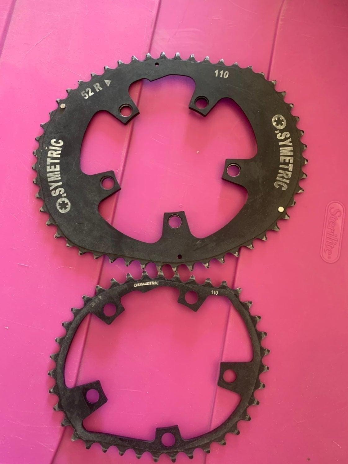 Osymetric chain ring set