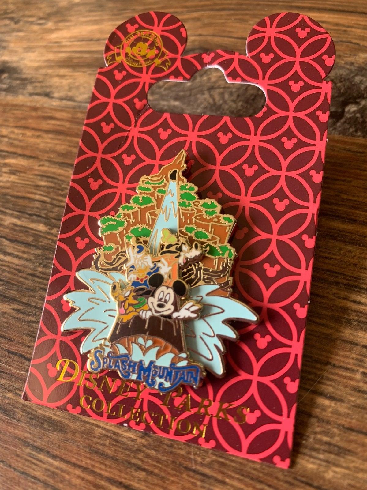 Disney Splash Mountain slider pin fab 4