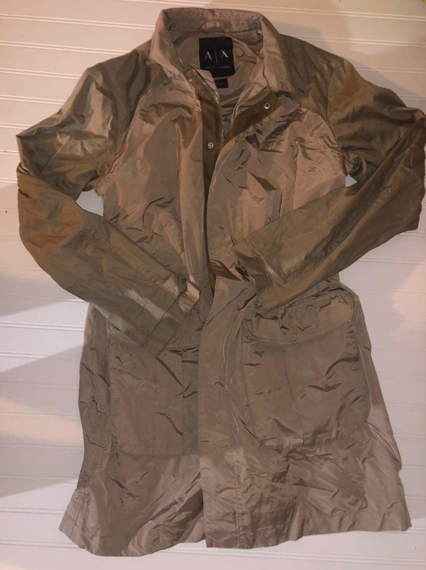 Armani Exchange Rain Coat/Trench Coat St