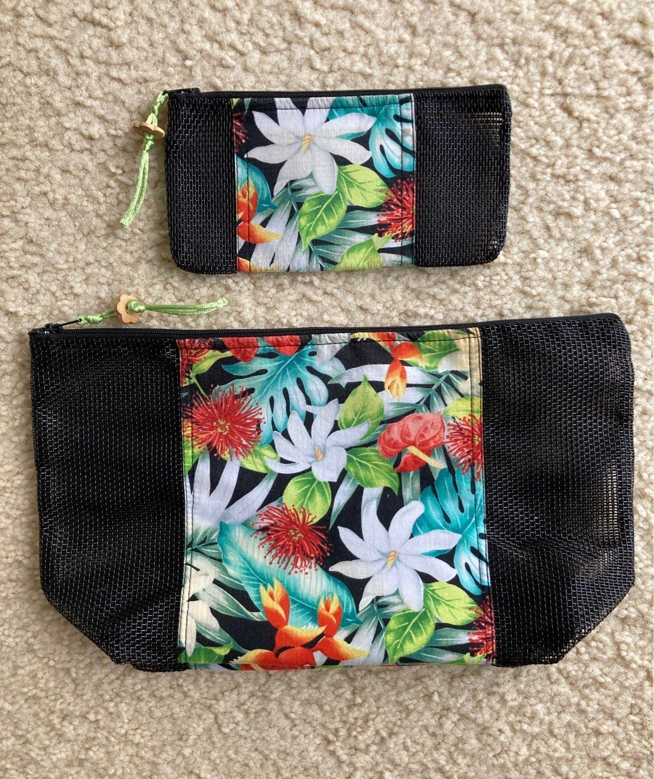 Hawaiian handmade pouch lot