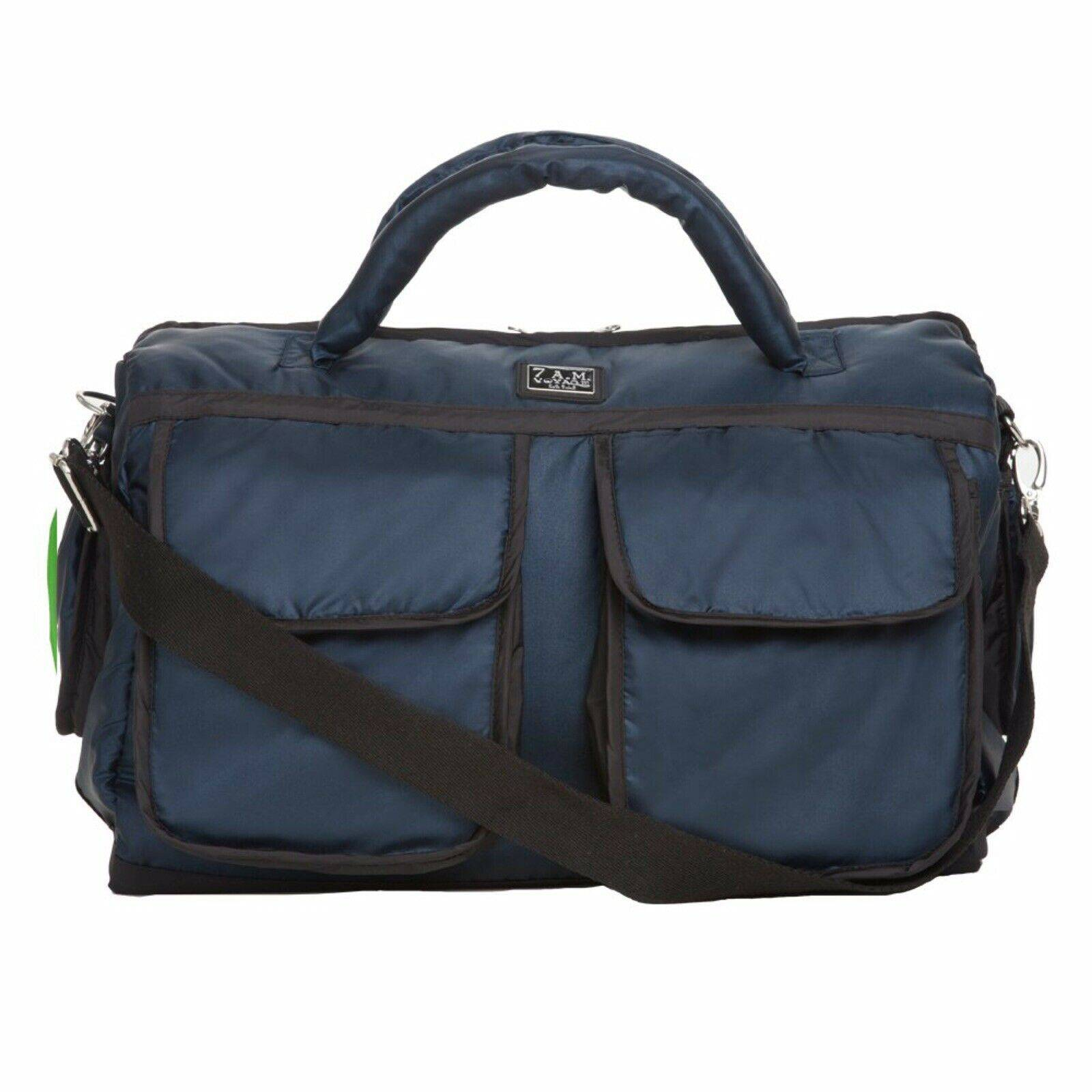 7AM Voyage Diaper Bag Small Prussian