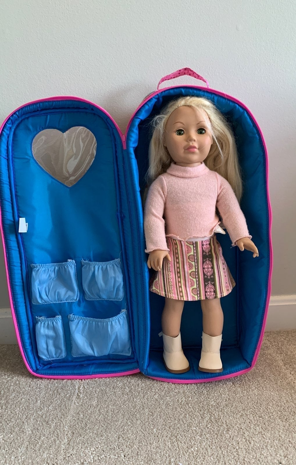 madame alexander doll w/ case