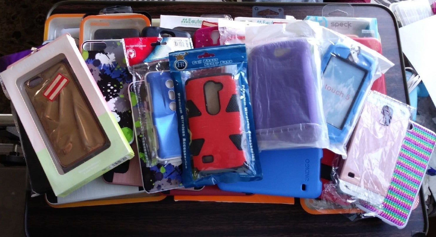 Variety Lot of Cell Phone Cases