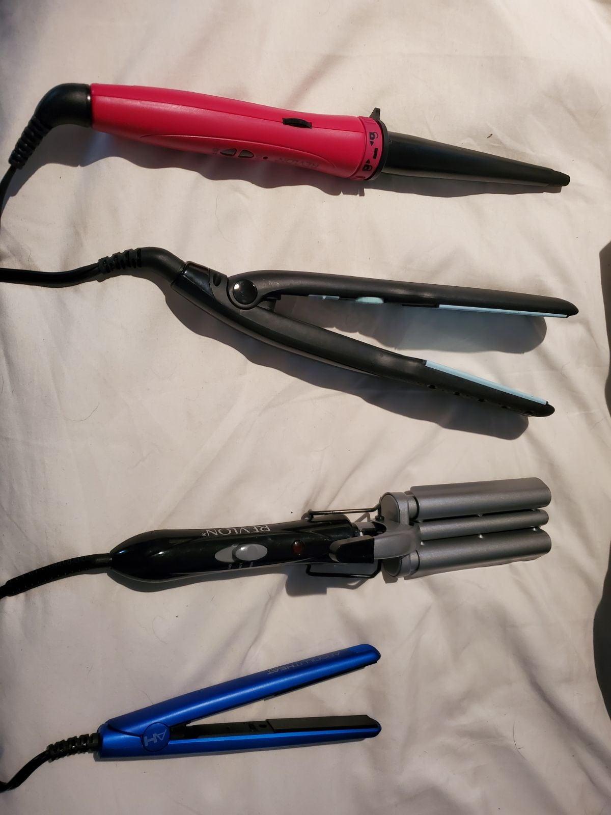 4 hair irons