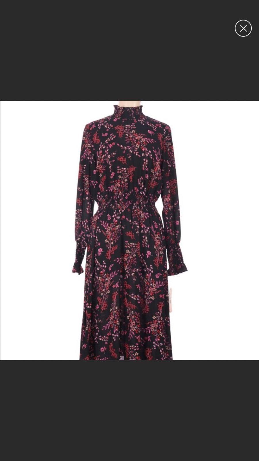 Nanette Lepore dragonfruit floral dress