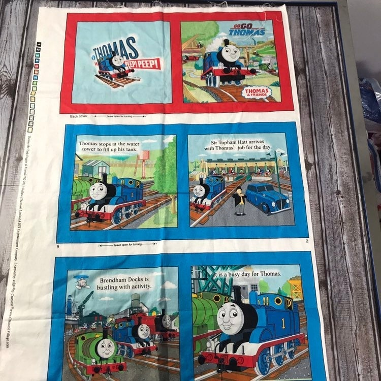 Thomas the Train Cranston Fabric Book