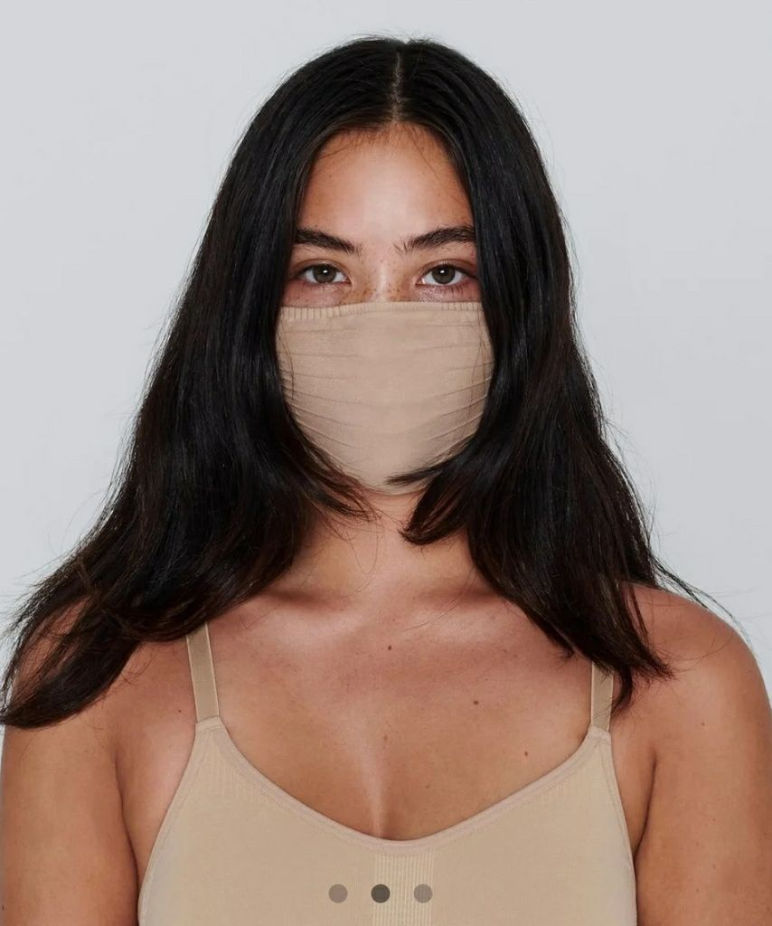 SKIMS Face Mask (Clay) 1ct Opened pack