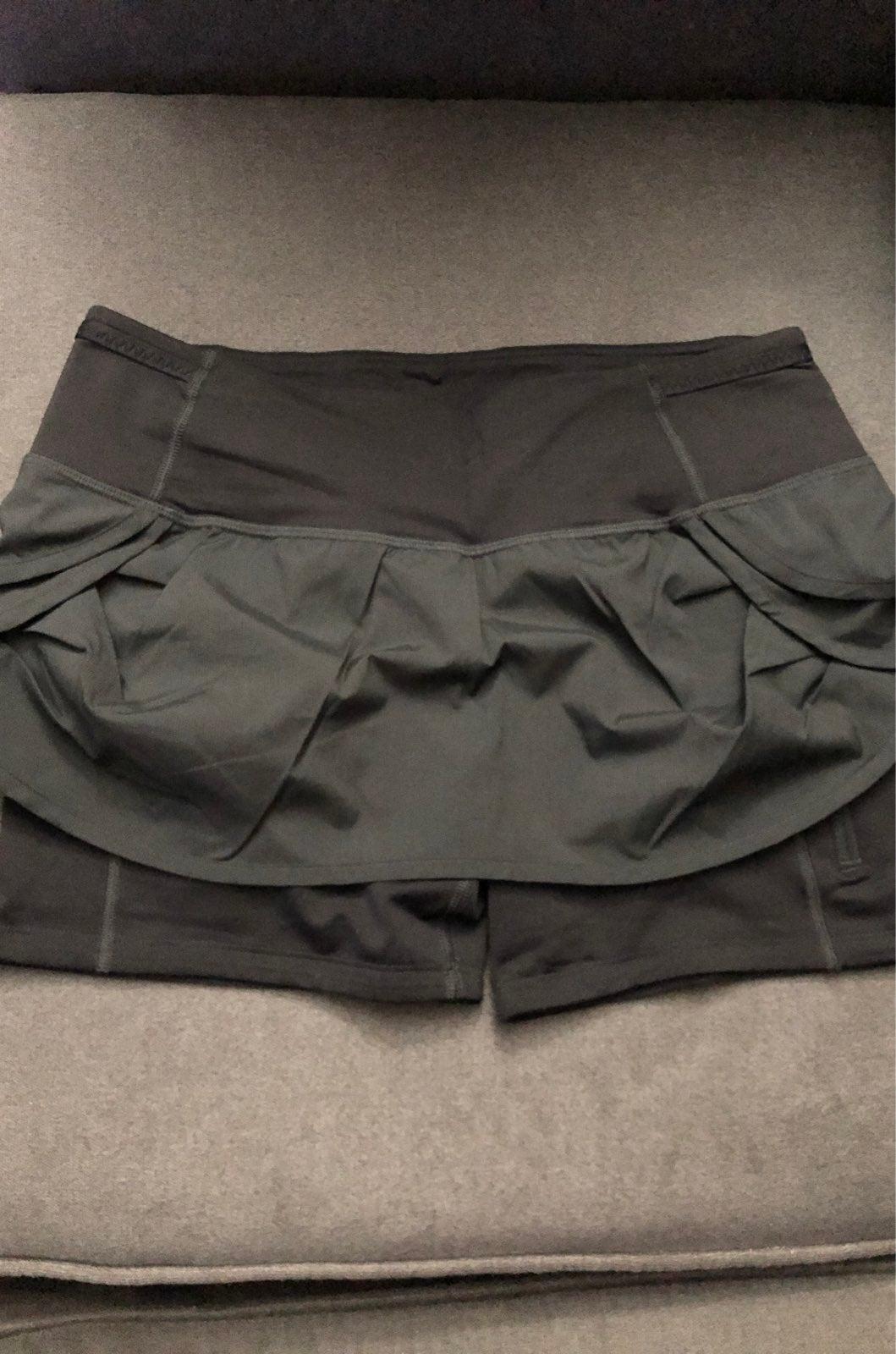 lululemon skirt shorts 6