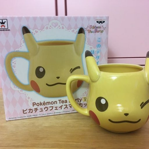 Pokemon Tea Party Pikachu Winking Mug