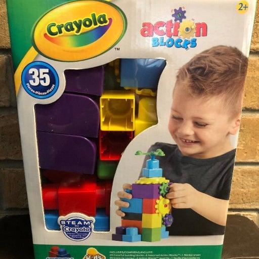 New Crayola Building Blocks Kids @ Work