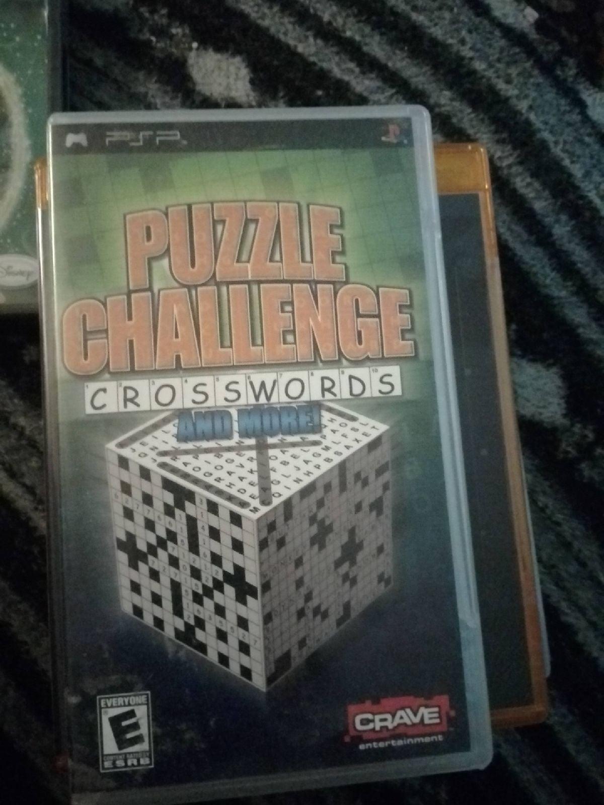 Puzzle Challenge Crossword PSP