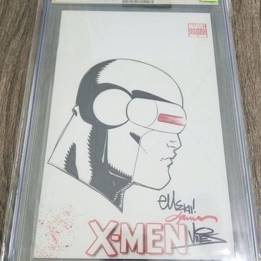 X-Men #1 Original Art Sketch CGC 9.8 SS