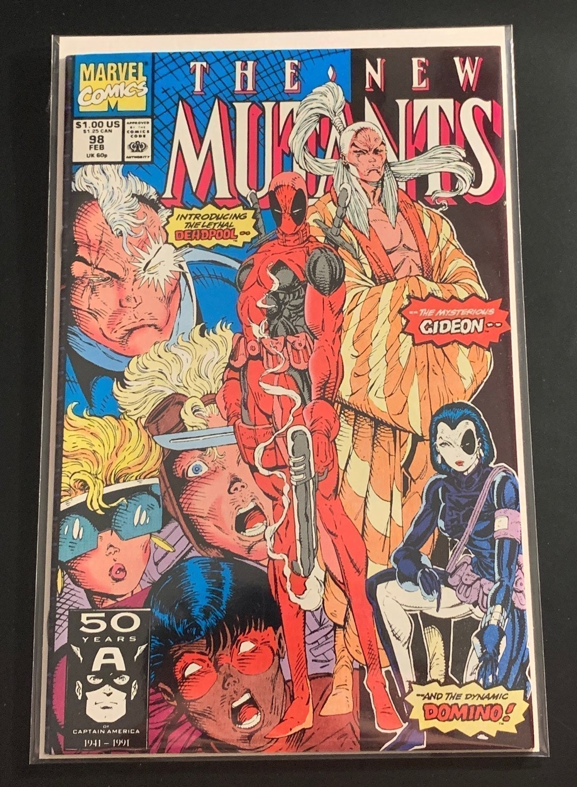 New Mutants Issue 98
