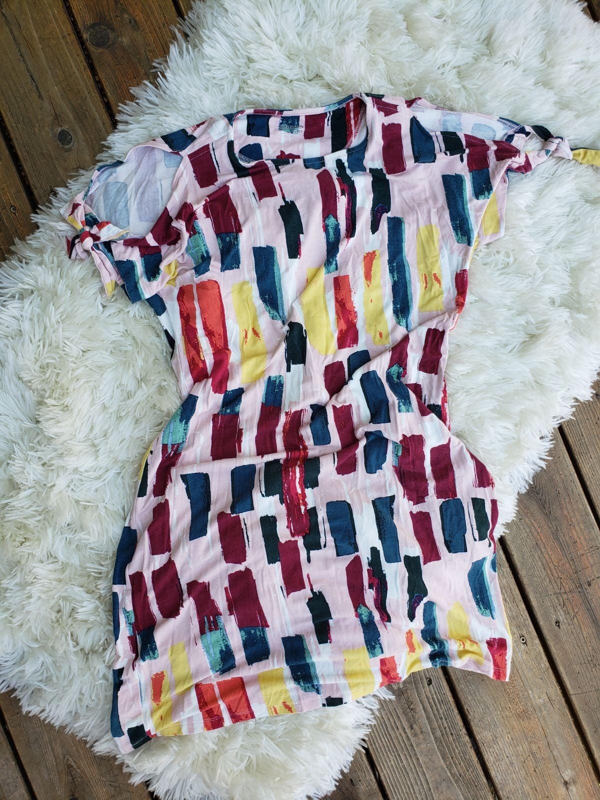 Ruff Hewn Cold Shoulder dress